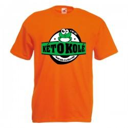Tee-shirt orange enfant Kéto Kolé Marais Poitevin