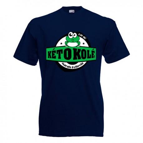 Tee-shirt bleu marine enfant Kéto Kolé Marais Poitevin