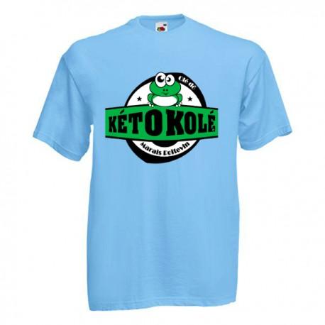 Tee-shirt bleu ciel enfant Kéto Kolé Marais Poitevin