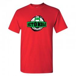 Tee-shirt rouge enfant Kéto Kolé Marais Poitevin