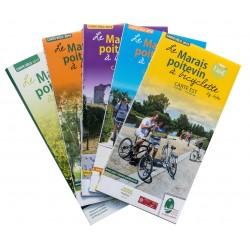 Cartes balades vélo marais poitevin