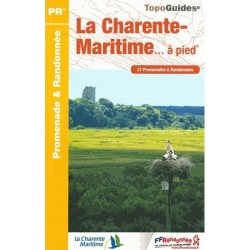 TopoGuide La Charente Maritime à pied