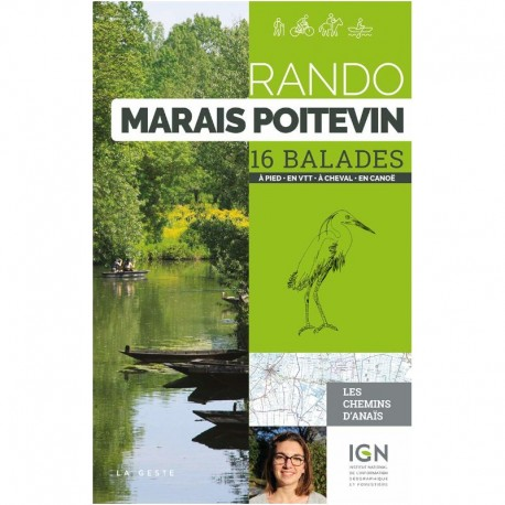 Rando Marais Poitevin | 16 balades | à pied - en VTT - à cheval - en canoë
