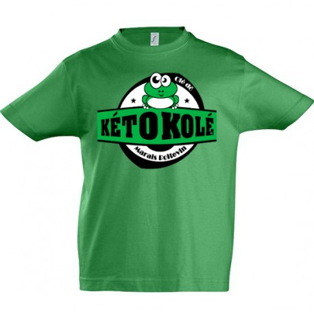 Tee-shirt enfant vert clair Kéto Kolé Marais Poitevin