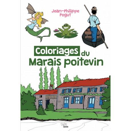 Livre de coloriages du Marais Poitevin