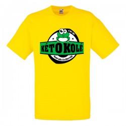 Tee-shirt jaune enfant Kéto Kolé Marais Poitevin