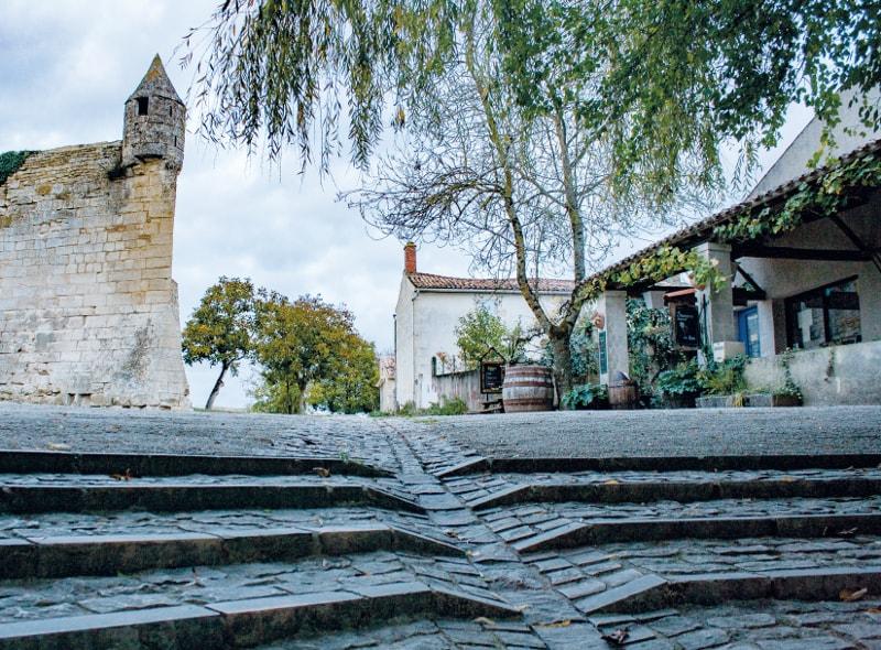 vieux port maillezais photo moderne marais poitevin échaugette abbaye