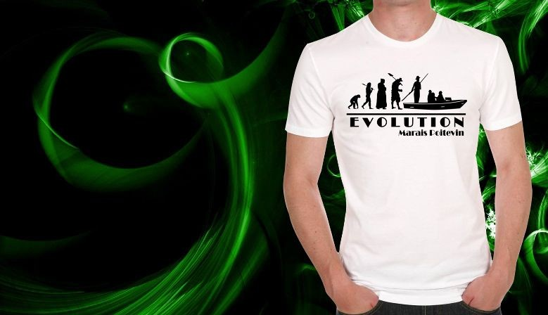 tee shirt evolution marais poitevin