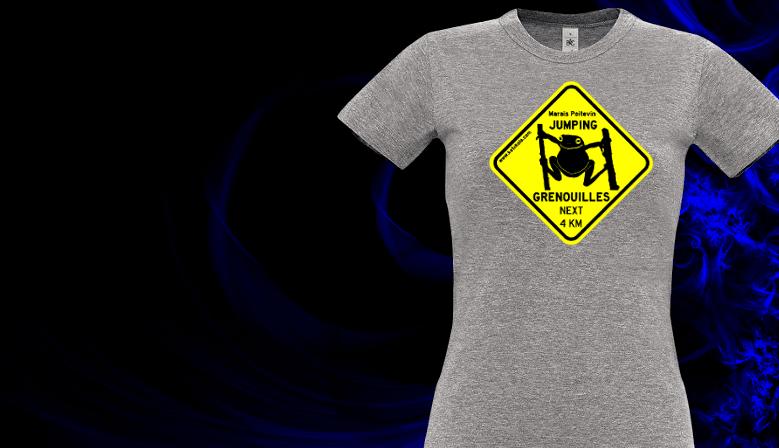 Tee shirts Jumping Grenouilles