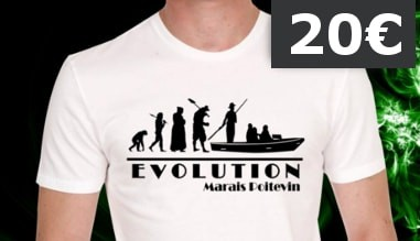 Tee-shirt Evolution Marais Poitevin